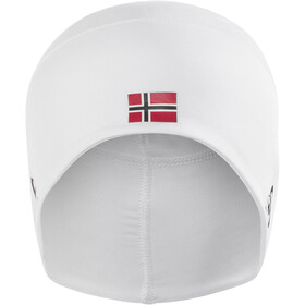 Odlo Polyknit Fan Casquette, white/norwegian flag